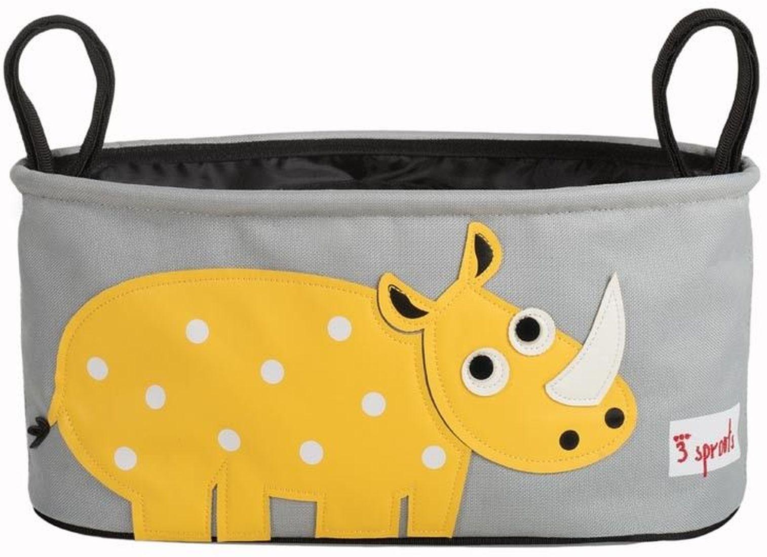 Kinderwagentasche Nashorn 3 Sprouts - Kleine Fabriek | 728 x 529 jpeg 61kB