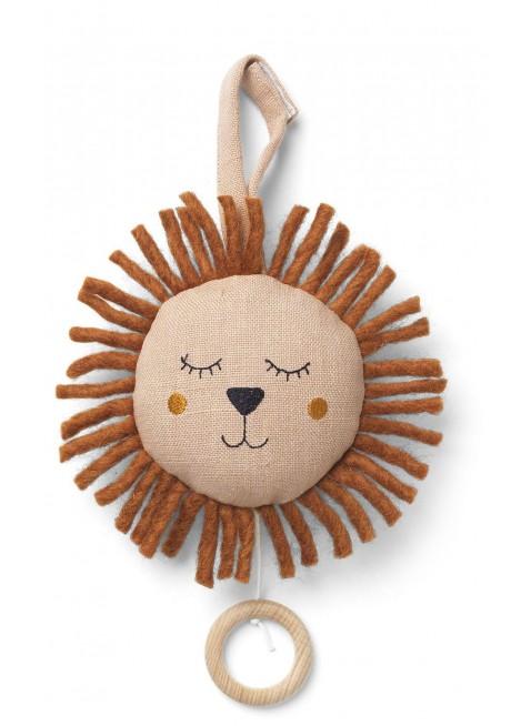 Löwe Spieluhr Rosa von Ferm Living kaufen - Kleine Fabriek
