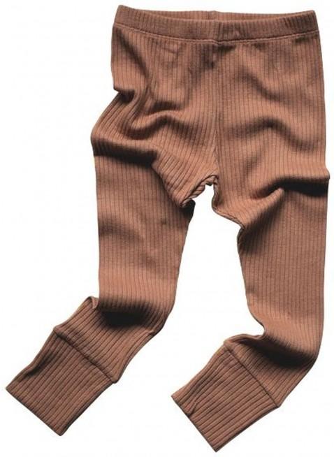 The Simple Folk Baby-Leggings Ribbed Cinnamon
