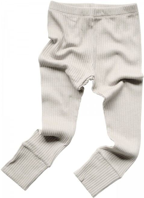 The Simple Folk Baby-Leggings Ribbed Ecru