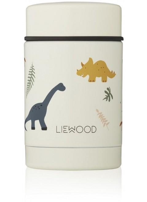 Liewood Edelstahl Isolierbehälter Dino Mix kaufen - Kleine Fabriek