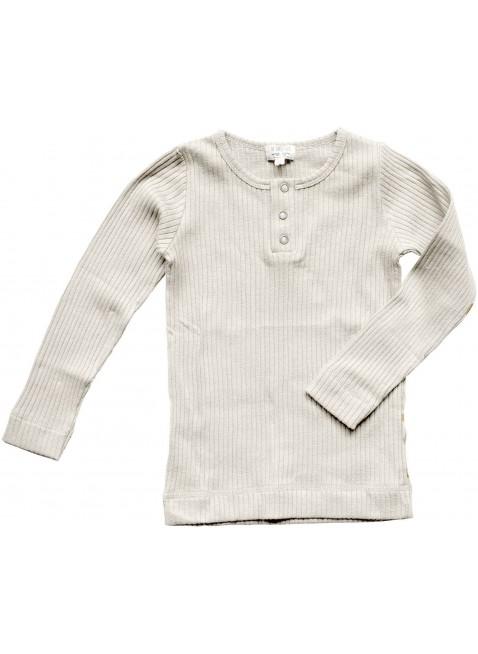The Simple Folk Baby-Langarmshirt Ribbed Ecru