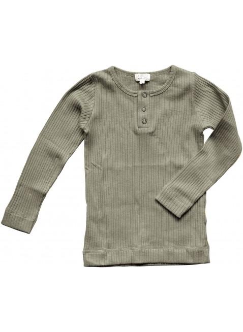 The Simple Folk Baby-Langarmshirt Ribbed Sage
