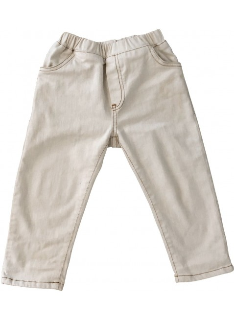 The Simple Folk Baby-Hose Summer Jean Off-White