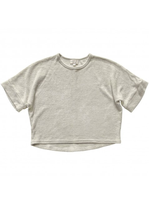The Simple Folk Baby-Shirt Frottee Oversized Ecru