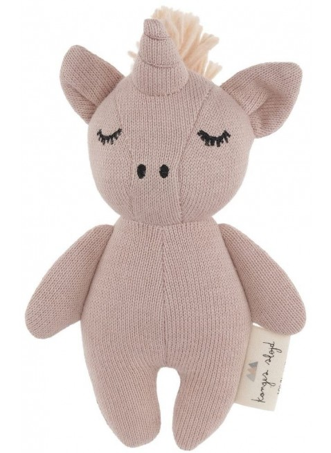 Konges Sløjd Mini Einhorn Babyspielzeug Rose Fawn - Kleine Fabriek