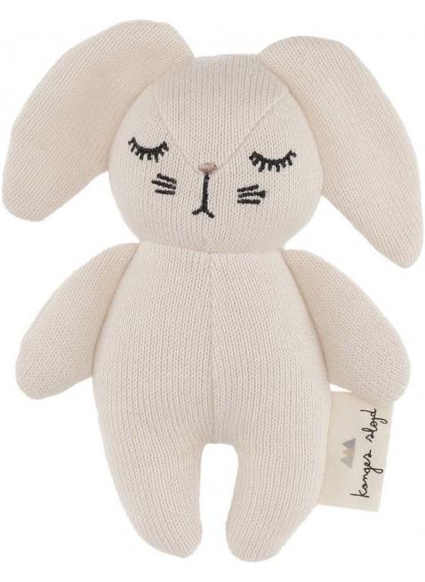 Konges Sløjd Mini Hase Babyspielzeug Off-White - Kleine Fabriek