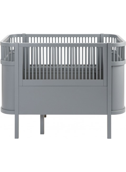 Sebra Babybett / Umbaubett Dunkelgrau - Kleine Fabriek