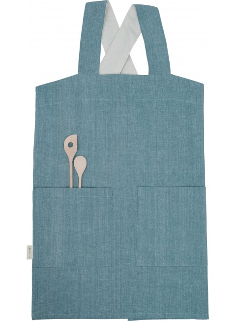 Fabelab Kinder Küchen-Schürze Blue Spruce