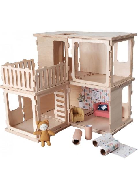 Fabelab Puppenhaus Build DIY Basis Set kaufen - Kleine Fabriek