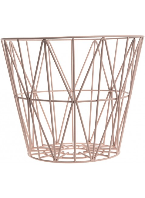Ferm Living Wire Basket Rose L