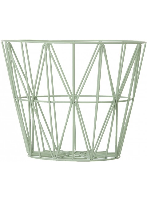 Ferm Living Wire Basket Mint L