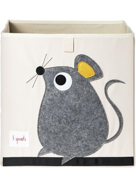 3 Sprouts Aufbewahrungsbox Maus - Kleine Fabriek