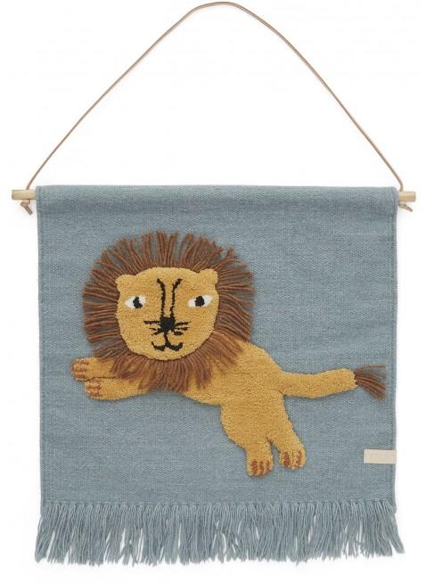 Löwe Wand-Teppich von OYOY kaufen - Kleine Fabriek