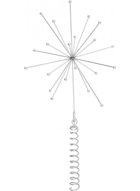 OYOY Weihnachtsbaumspitze Stern Silber kaufen - Kleine Fabriek