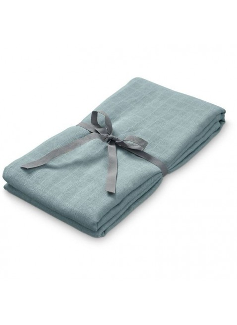 Cam Cam Copenhagen Swaddle Light Wickeltuch XL Petrol - Kleine Fabriek