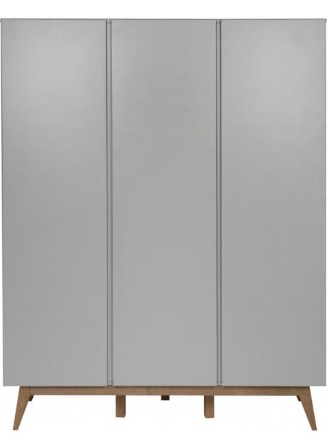 Quax 3-türiger Kleiderschrank Trendy Grau kaufen - Kleine Fabriek
