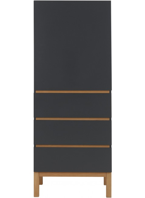 Quax 1-türiger Kleiderschrank Indigo Moonshadow kaufen - Kleine Fabriek