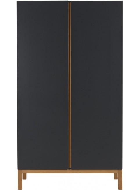 Quax 2-türiger Kleiderschrank Indigo Moonshadow kaufen - Kleine Fabriek