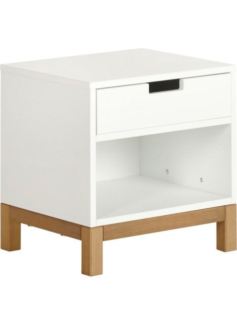 Quax Nachttisch Indigo Weiß kaufen - Kleine Fabriek