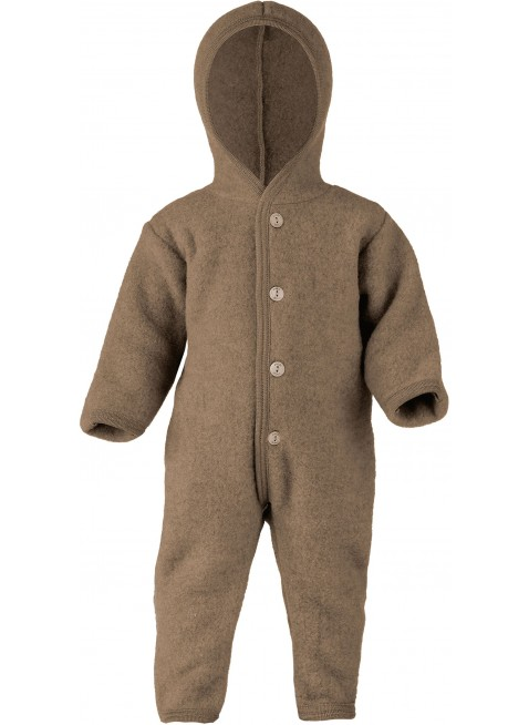 Engel Baby-Overall Walnuss Melange 74/80