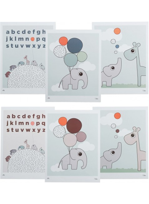 Done by Deer Kinderzimmer Poster Set