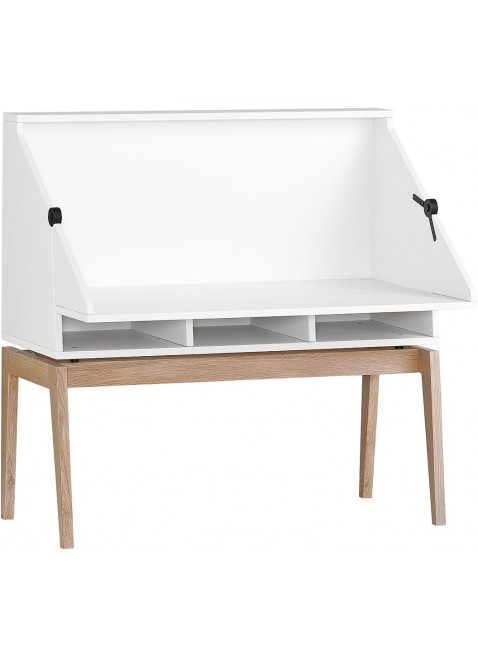 Leander Luna Schreibpult Weiß - Eiche kaufen - Kleine Fabriek