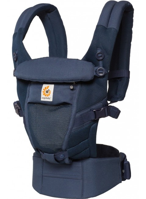 Ergobaby Babytrage Adapt Cool Air Mesh Deep Blue - Kleine Fabriek