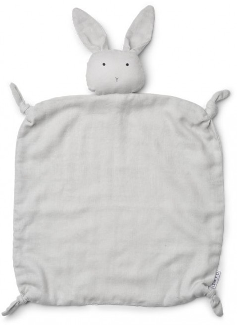 Liewood Baby-Schmusetuch Agnete Hase Dumbo Grey - Kleine Fabriek