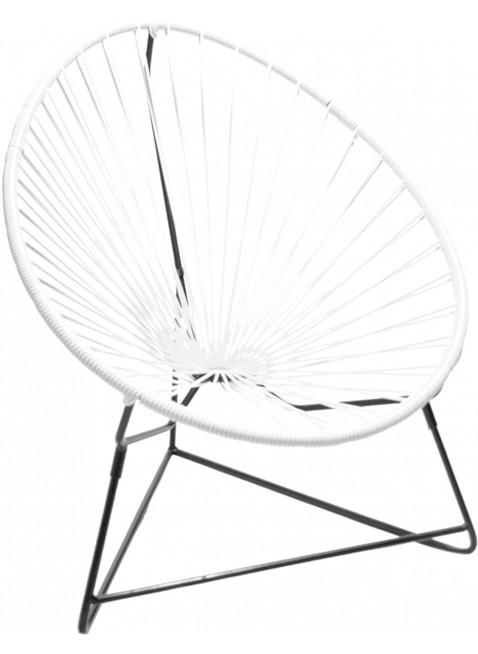 Boqa Acapulco Chair Chiquita Kinderstuhl Schwarz/Weiß - Kleine Fabriek