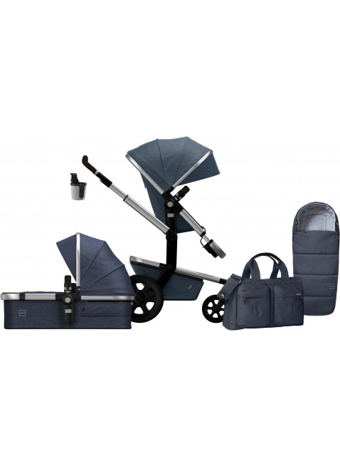 Joolz Day 3 Studio Midnight Blue Kinderwagen Set M - Kleine Fabriek