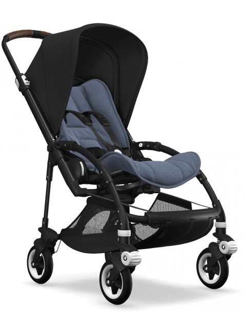 Bee 5 Bugaboo Buggy Styled by you mit Sonnendach Schwarz - Kleine Fabriek