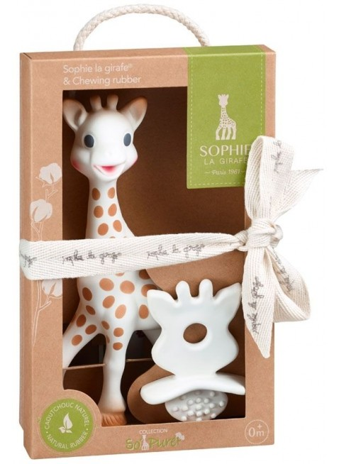 Vulli Sophie la girafe Geschenkset mit Zahnungshilfe kaufen - Kleine Fabriek