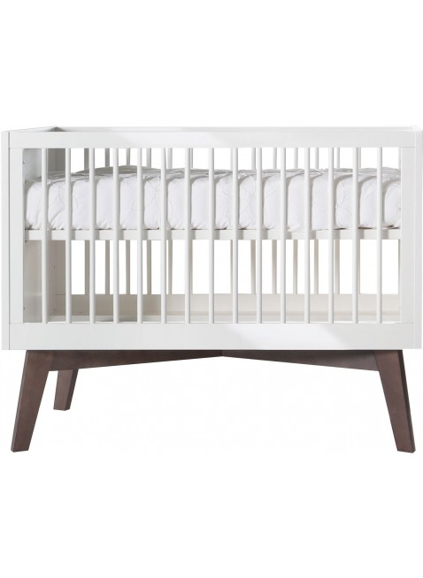 kidsmill babybett sixties 60x120 cm wei kiefer kleine fabriek. Black Bedroom Furniture Sets. Home Design Ideas