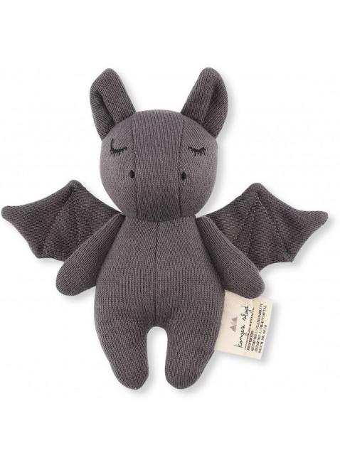 Konges Sløjd Mini Fledermaus Babyspielzeug Grau - Kleine Fabriek