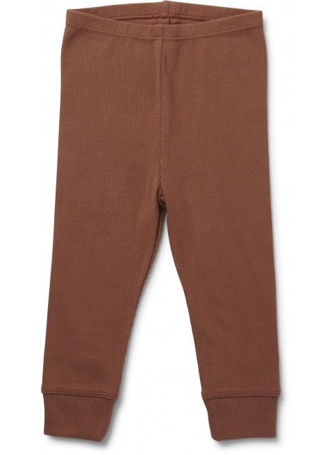 Konges Sløjd Baby-Leggings Siff Choco Bean 0-1 Monate