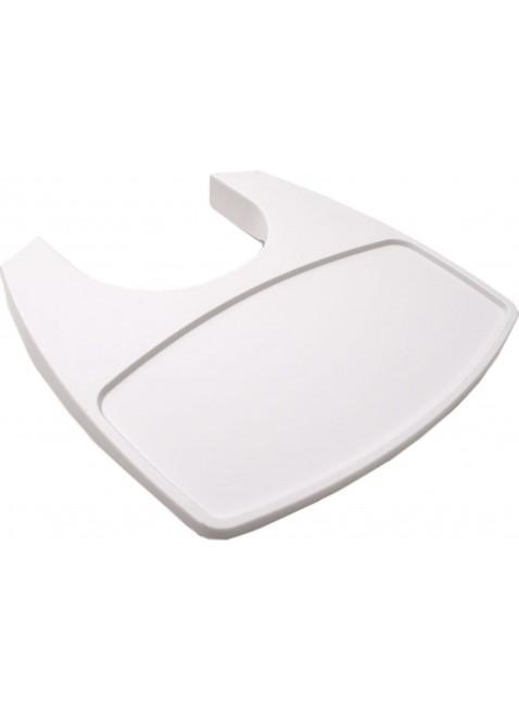Leander Tisch für Hochstuhl Weiß