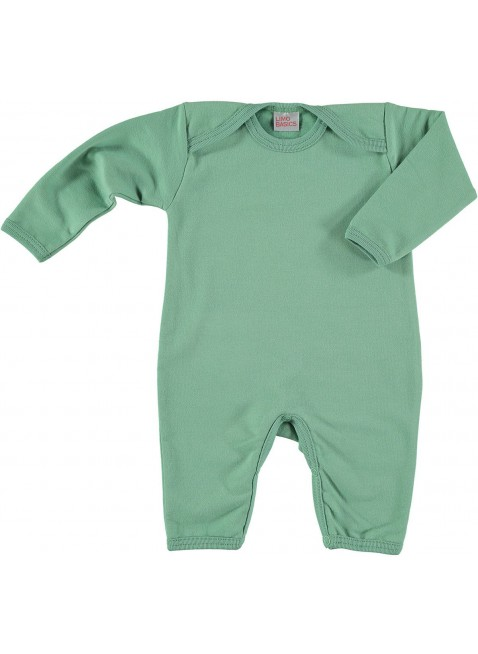 limobasics Baby Sweat Overall Moosgrün