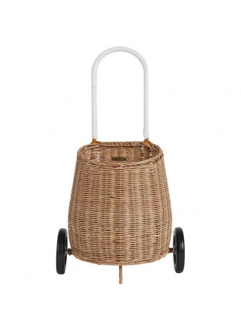 Olli Ella Medium Luggy Basket Korb-Einkaufstrolley Natural kaufen - Kleine Fabriek