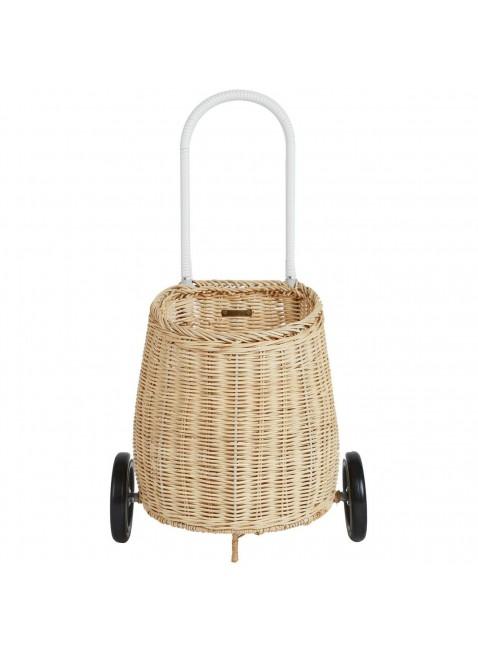 Kinder Korb-Einkaufstrolley Straw von Olli Ella kaufen - Kleine Fabriek