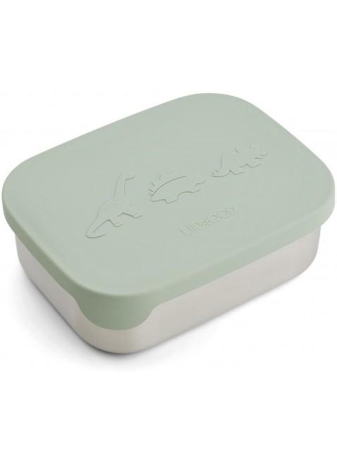 Liewood Edelstahl Lunchbox Dino Dusty Mint kaufen - Kleine Fabriek