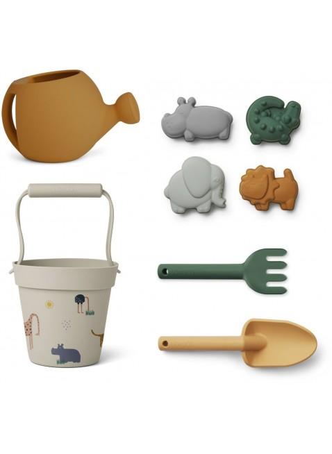 Liewood Silikon-Sandspielzeug Florence Safari kaufen - Kleine Fabriek