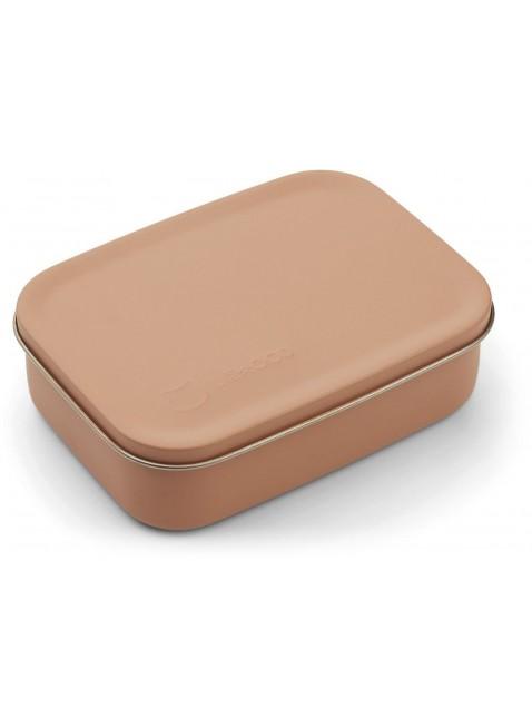 Liewood Edelstahl Lunchbox Frühstücksbox Jimmy Katze Tuscany Rose
