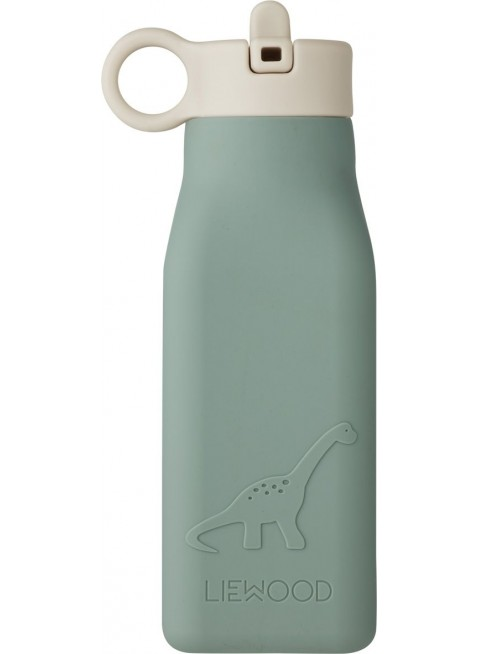 Liewood Silikon Trinkflasche Warren Dino Peppermint