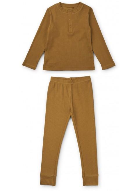 Liewood Pyjama Wilhelm Golden Caramel