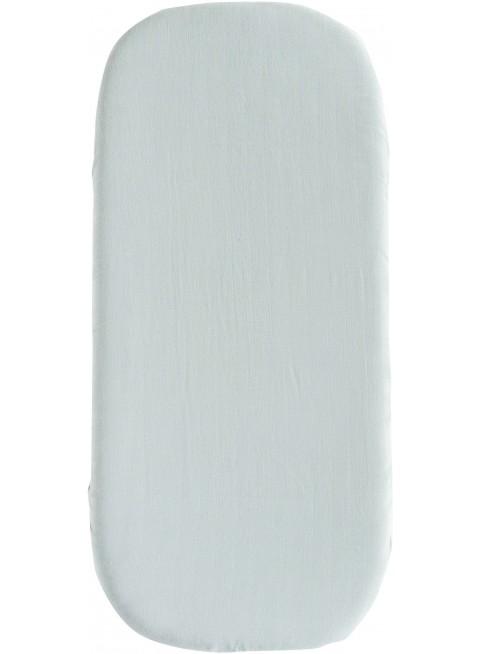 Nobodinoz Spannbettlaken für Wiege 40x80 cm Melody Riviera Blue