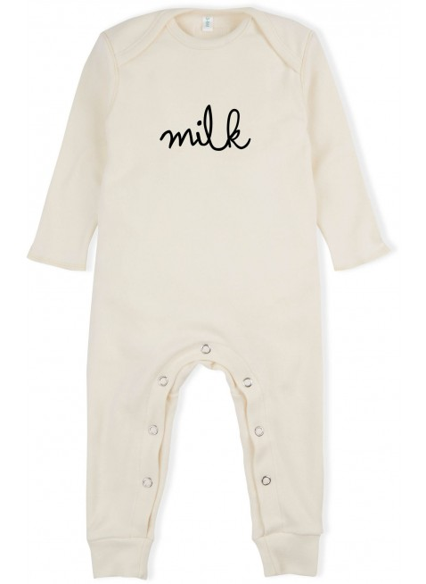 Baby-Overall Natural Milk von Organic Zoo kaufen - Kleine Fabriek