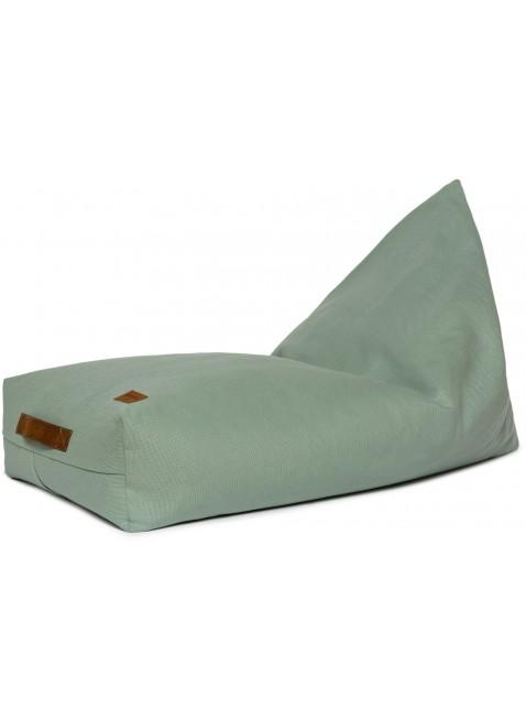 Nobodinoz Pure Line Sitzsack Pouf Oasis Eden Grün - Kleine Fabriek