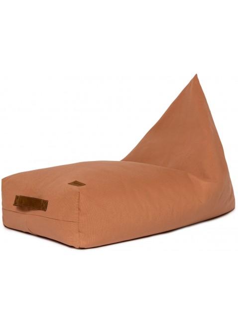 Nobodinoz Pure Line Sitzsack Pouf Sienna Braun - Kleine Fabriek