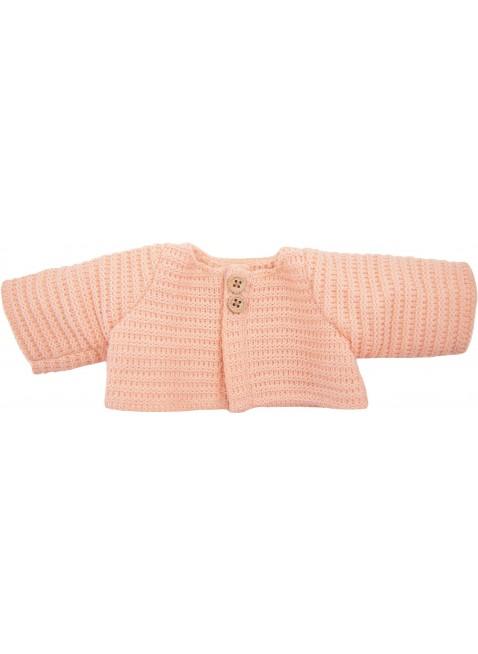 Olli Ella Dinkum Puppen-Strickjacke Rose kaufen - Kleine Fabriek